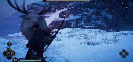 Image showing the Elk of Bloody Peak legendary animal.