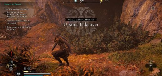 Featured image on Ursine Takeover World Event guide.