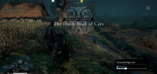 Featured image on The Doom Book of Cats guide.