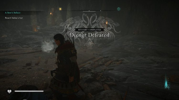 Image showing the Drengr Defeated mystery completed.