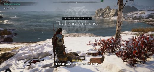 Featured image on The Hunt for Honor guide.