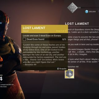Featured image on The Lost Lament guide for Destiny 2 Beyond Light.