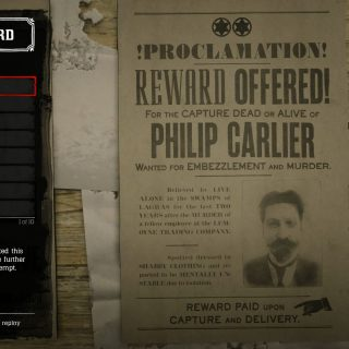 Featured image on Legendary Bounties list for Red Dead Online.