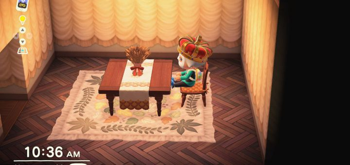 Featured image on Animal Crossing New Horizons Turkey Day guide.
