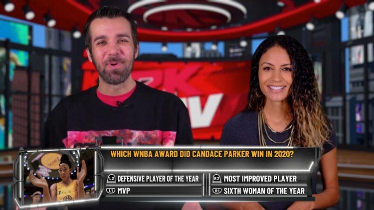 Image showing a NBA 2K21 2KTV Episode 14 Question.
