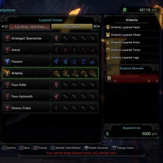 Featured image on How to Get the Artemis Armor in Monster Hunter World Iceborne guide.