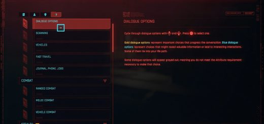 Featured image on Dialogue Colors Explained guide for Cyberpunk 2077.