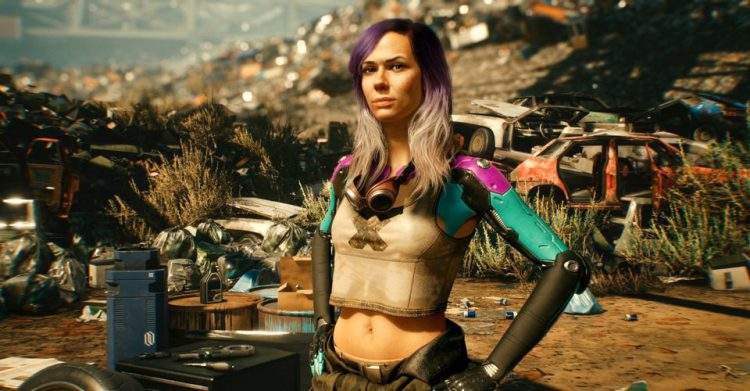 Image showing Alanah Pearce in Cyberpunk 2077.