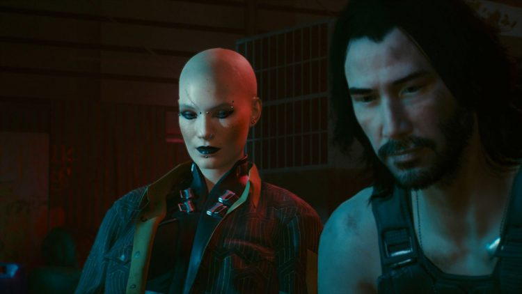 Image showing the Could Also Just Put All This To Rest ending in Cyberpunk 2077.