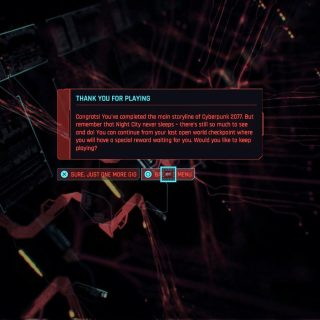 Featured image on Is There NG+ in Cyberpunk 2077 question answer.
