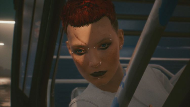 Image showing letting Johnny have the body in Cyberpunk 2077.