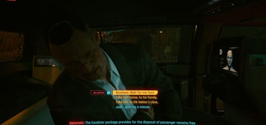 Featured image on Where to Send Jackie in Cyberpunk 2077 guide.