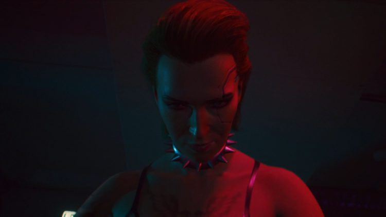 Image showing Meredith Stout in Cyberpunk 2077.
