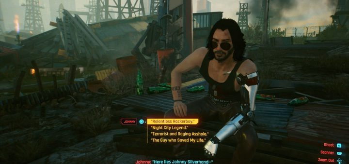 Featured image on What to Say to Johnny in the Oil Fields in Cyberpunk 2077 guide.