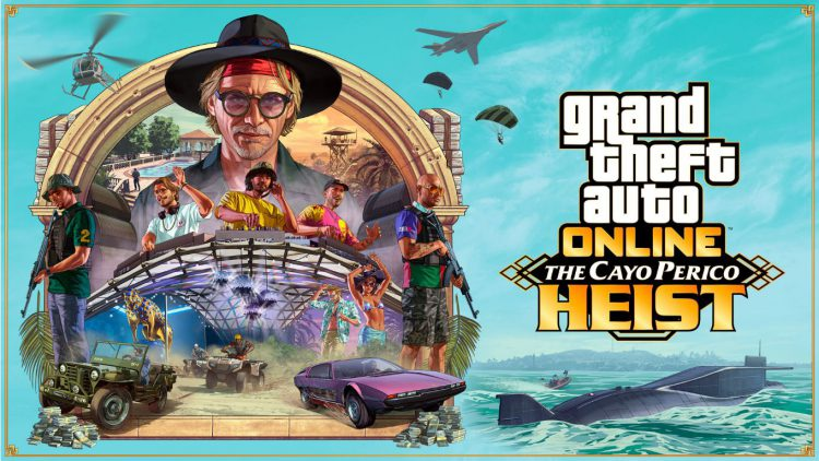 Image showing one of the heists in GTA Online called The Cayo Perico Heist.