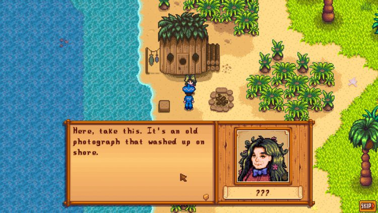 Image showing How to Start The Pirate's Wife Quest in Stardew Valley.