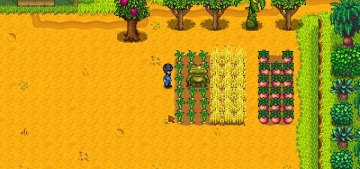 Featured image on What to Grow for the Frog on Ginger Island guide.