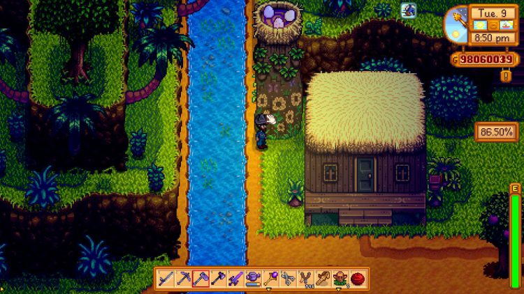 Image showing the Warp Tower in Stardew Valley.