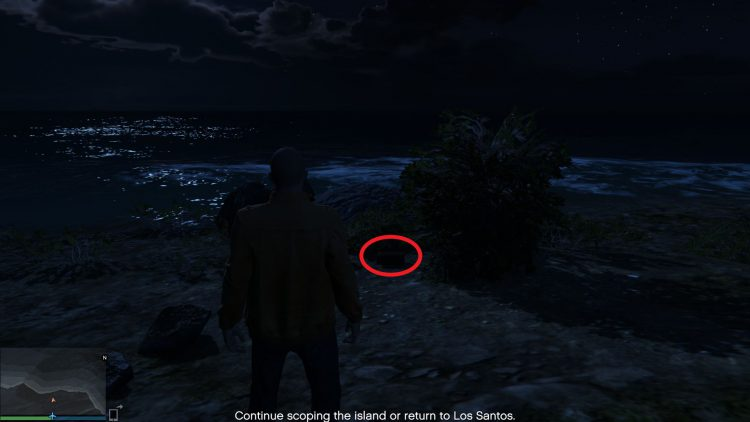 Image showing one of the Cayo Perico Treasure Chest spawn locations.