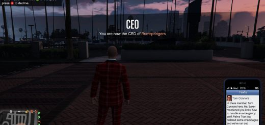 Featured image on GTA Online Palms Trax missions guide.