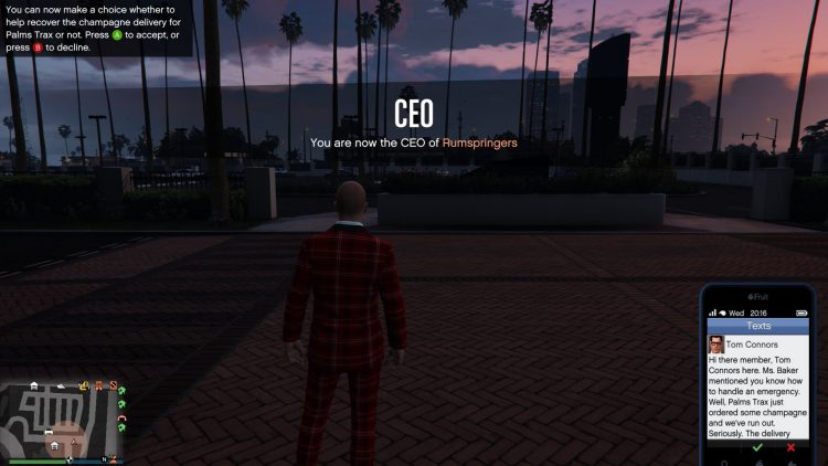 Image showing How to Start Palms Trax Missions in GTA Online.