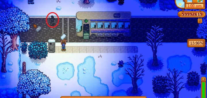 Featured image on Stardew Valley Strange Capsule guide.
