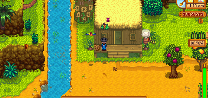 Featured image on Squirrel Figurine item guide for Stardew Valley.