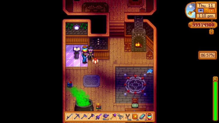 Image showing what to do with the Prismatic Jelly in Stardew Valley.