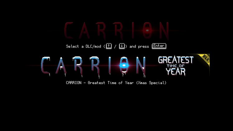 Image showing How to Start Carrion Greatest Time of Year DLC.