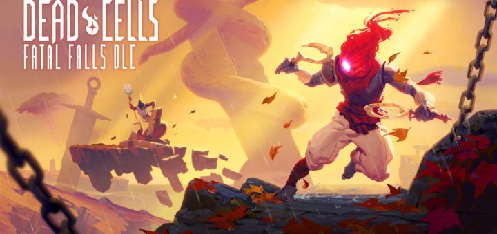 Featured image on Dead Cells Fatal Falls DLC news.