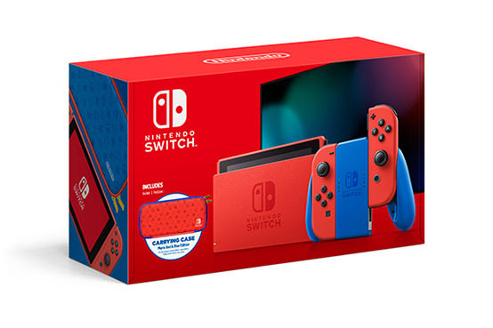 Image showing the Mario Red & Blue Switch.