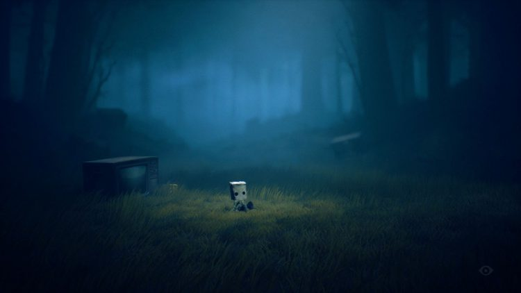 Image showing the opening of the Wilderness level in Little Nightmares 2.