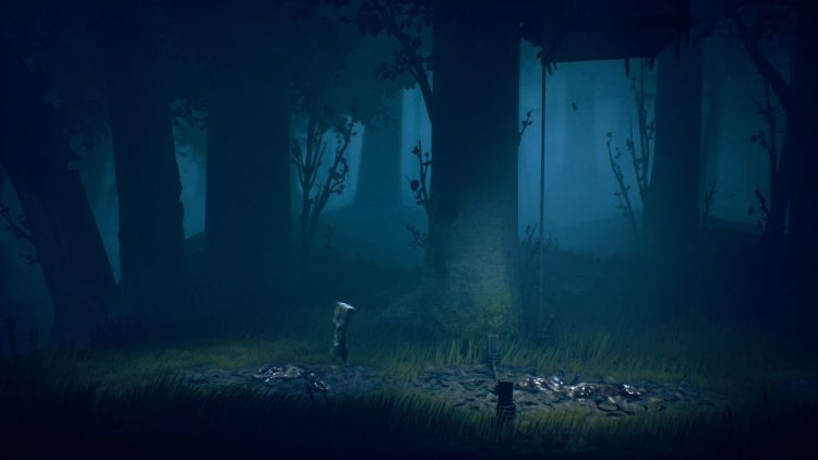 Image showing the first trap in the Wilderness area of Little Nightmares 2.