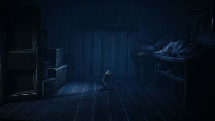 Image showing the axe location in Little Nightmares 2.