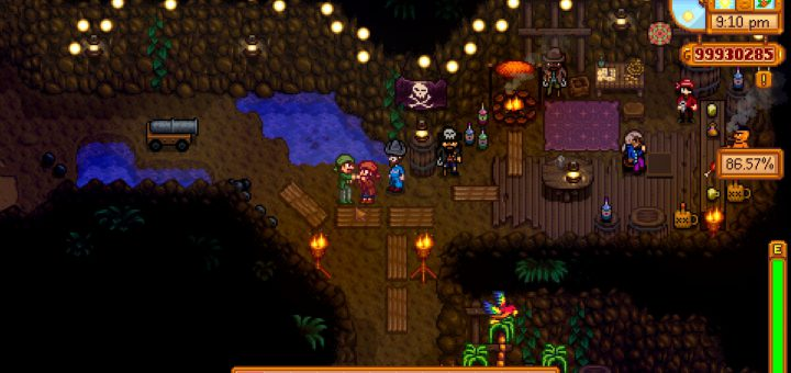 Featured image on Stardew Valley Ginger Island Pirates guide.