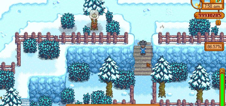 Featured image on Stardew Valley Town Shortcuts locations guide.