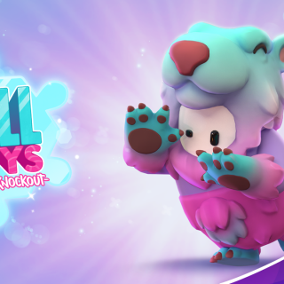 Featured image on Fall Guys Slushie Bear bundle news.