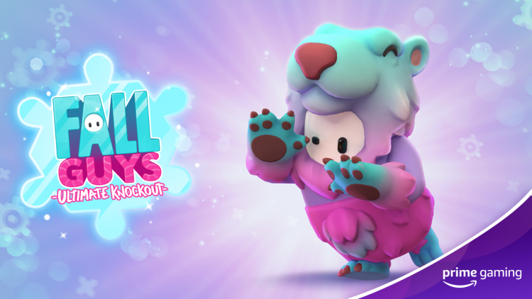 Image showing the Slushie Bear outfit in Fall Guys.