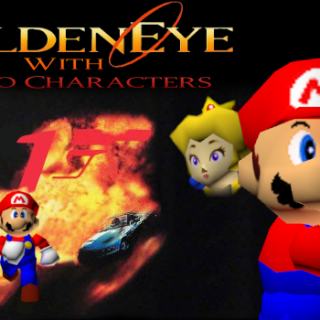 Featured image on Goldeneye Mod Adds Mario 64 Characters news.
