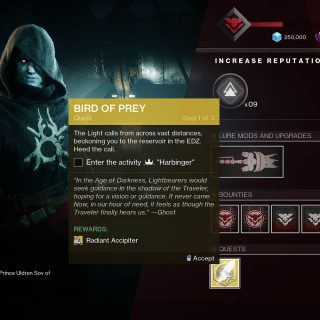 Featured image on Destiny 2 Bird of Prey Guide