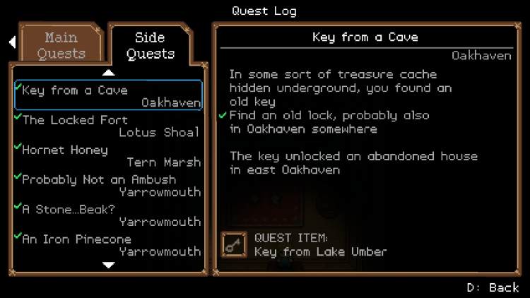 Image showing a screenshot of the Ocean's Heart UI.