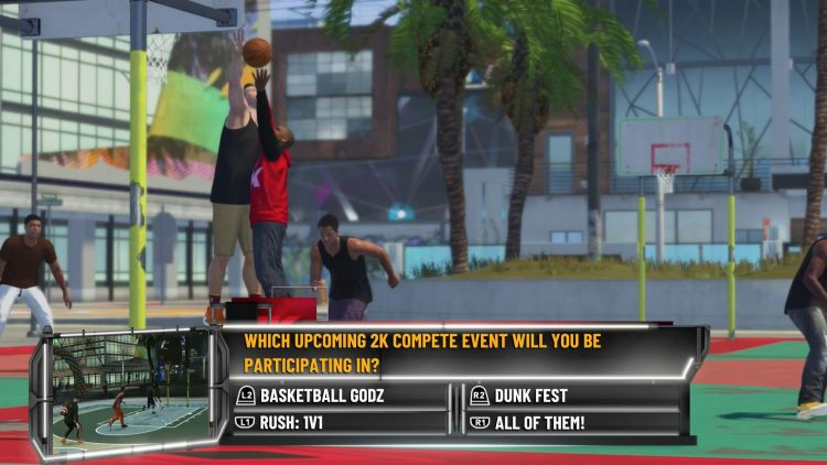 Image showing a NBA 2K21 2KTV Episode 22 question.