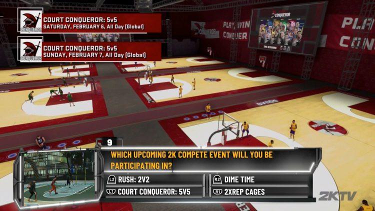 Image showing an NBA 2K21 2KTV Episode 24 Question.