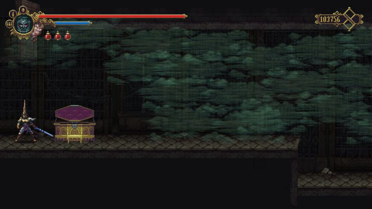 Image showing the Library of Negated Words wall leading to shard challenge.
