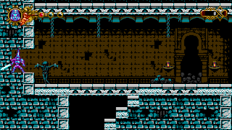 Image showing the second skull location in Blasphemous arcade game.