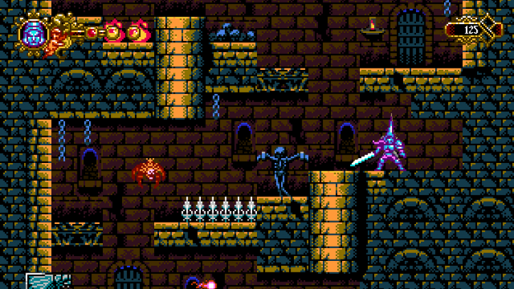Image showing the fifth skull location in the Blasphemous acrade game.
