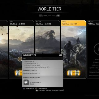 Featured image showing How to Claim World Tier Rewards in Outriders.
