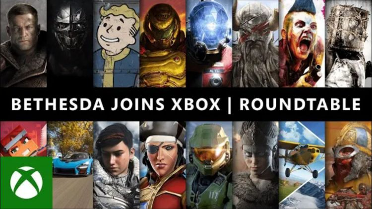 Image showing the Xbox Bethesda Roundtable title screen.