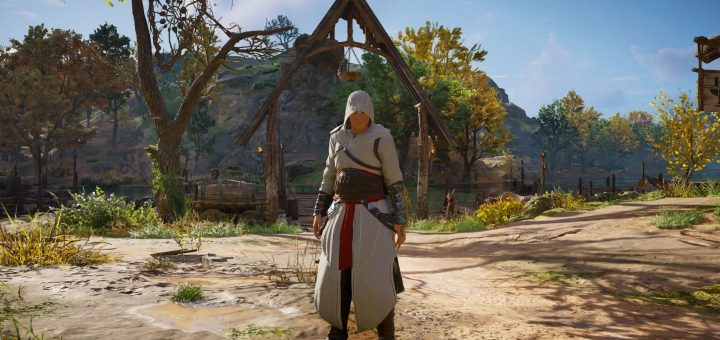 Featured image on Assassin's Creed Valhalla How to Get Altair Outfit guide.