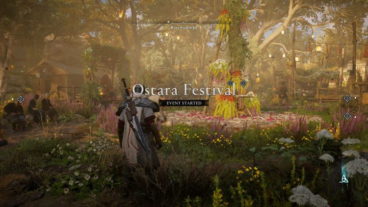 Image showing the start of Ostara Festival in AC Valhalla.